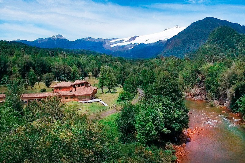 Melimoyu lodge patagonia chilena