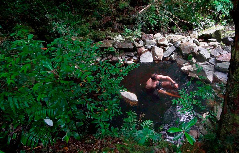 Natural hot spring melimoyu lodge