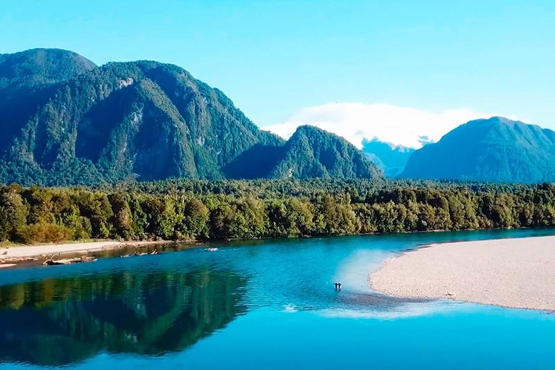 Ríos y lagos patagonia chilena